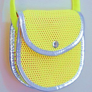 Other - 🔥3/$20🔥 neon yellow mini shoulder purse